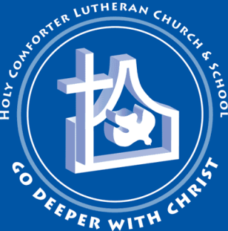 Holy Comforter Lutheran Church Logo