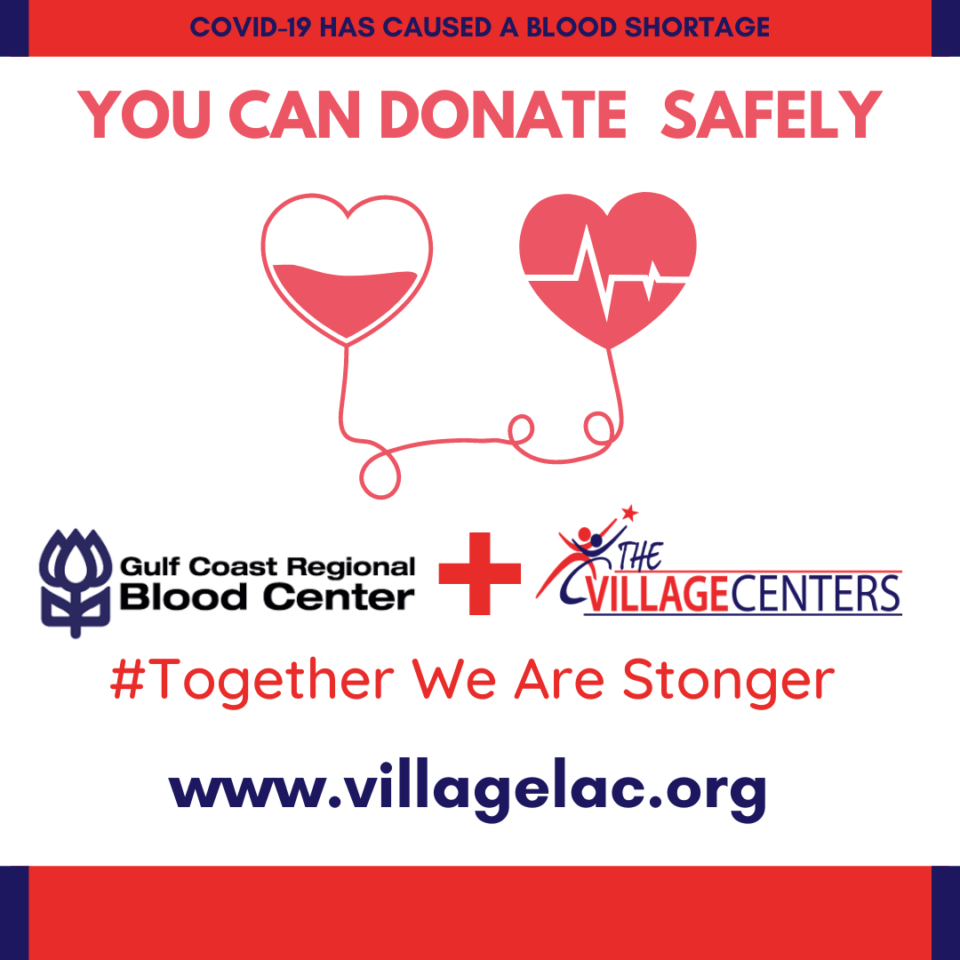 Blood Drive Event Page